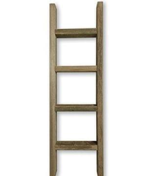 Barnwood Decor Of OKC Barnwood Ladder 2x4 Authentic Weathered Wood Ladder Made By 0 300x360