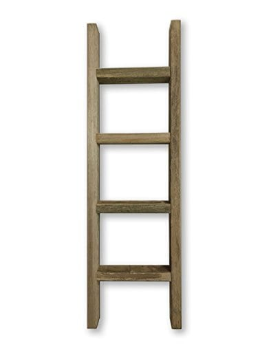 Barnwood Decor Of OKC Barnwood Ladder 2x4 Authentic Weathered Wood Ladder Made By 0