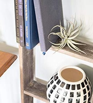 BarnwoodUSA Rustic Farmhouse Blanket Ladder Our 5 Ft Ladder Can Be Mounted Horizontally Or Vertically And Is Crafted From 100 Recycled And Reclaimed Wood No Assembly Required 0 2 300x333