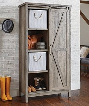 Better Homes And Gardens Storage Cabinet Rustic Gray Finish 0 300x360
