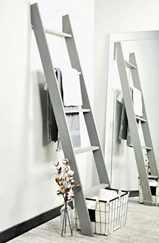BrandtWorks 204L Weathered Gray 72 Decorative Blanket Ladder 0 0