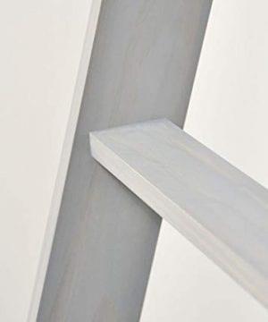 BrandtWorks 204L Weathered Gray 72 Decorative Blanket Ladder 0 1 300x360