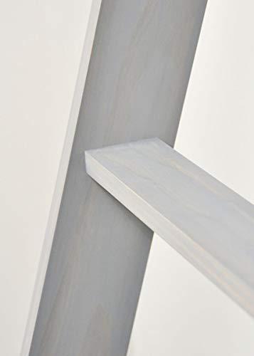 BrandtWorks 204L Weathered Gray 72 Decorative Blanket Ladder 0 1