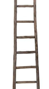 Cheungs Hand Crafted Design Wooden Decorative Ladder Brown 0 0 201x360