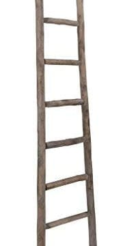 Cheungs Hand Crafted Design Wooden Decorative Ladder Brown 0 183x360