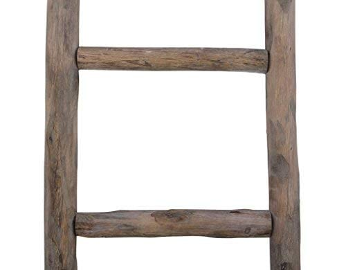 Cheungs Hand Crafted Design Wooden Decorative Ladder Brown 0 3