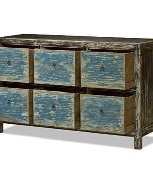 ChinaFurnitureOnline Elmwood 6 Drawer Ming File Cabinet 0 0 300x360
