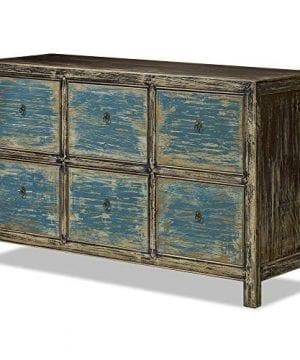 ChinaFurnitureOnline Elmwood 6 Drawer Ming File Cabinet 0 1 300x360