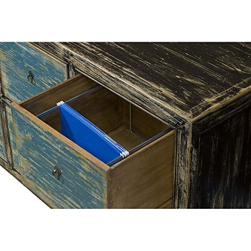 ChinaFurnitureOnline Elmwood 6 Drawer Ming File Cabinet 0 3