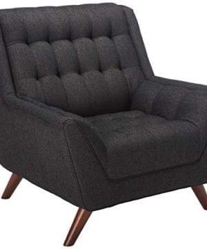 Coaster Home Furnishings Natalia Tufted Chair Black 0 300x360