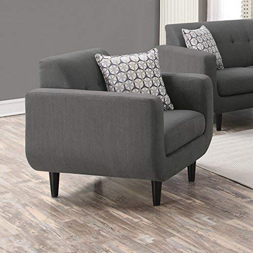 Coaster Home Furnishings Stansall Upholstered Chair Grey 0 0