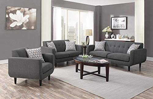 Coaster Home Furnishings Stansall Upholstered Chair Grey 0 1