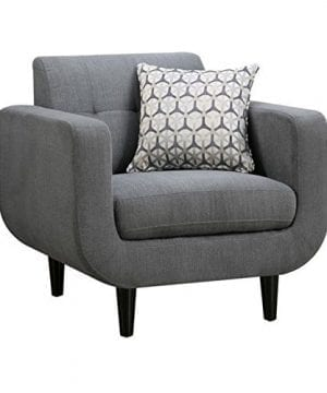 Coaster Home Furnishings Stansall Upholstered Chair Grey 0 300x360