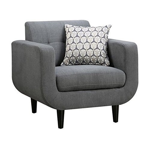 Coaster Home Furnishings Stansall Upholstered Chair Grey 0