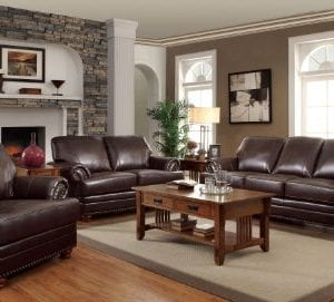 Colton Chair With Comfortable Cushions Brown 0 0 300x271