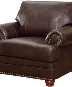Colton Chair With Comfortable Cushions Brown 0 300x360