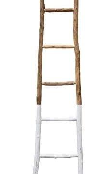 Creative Co Op White Dipped Decorative Ladder 0 0 230x360