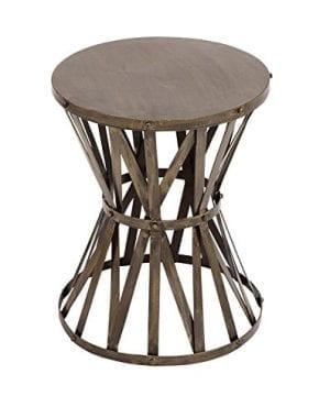 Deco 79 27523 Metal Accent Table 14 W 18 H 0 300x360