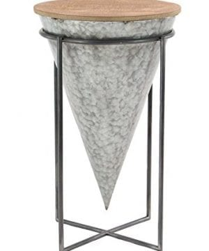 Deco 79 98746 98746 Accent Table Gray Brown 0 300x360