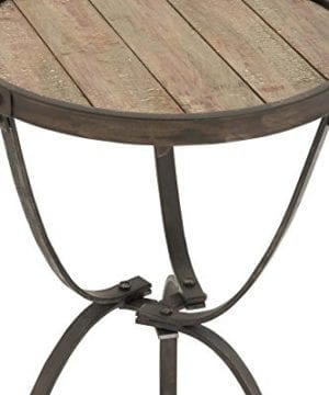Deco 79 Metal Wood Side Table 27 By 18 Inch 0 0 300x360