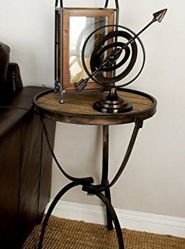 Deco 79 Metal Wood Side Table 27 By 18 Inch 0 2 267x360