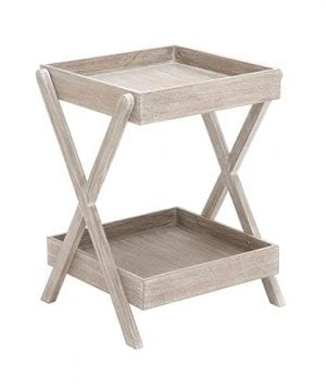 Deco 79 Wood Accent Table Tray Taupe 20 By 26 Inch 0 300x360