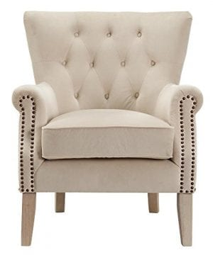 Dorel Living Accent Chair Beige 0 0 300x360