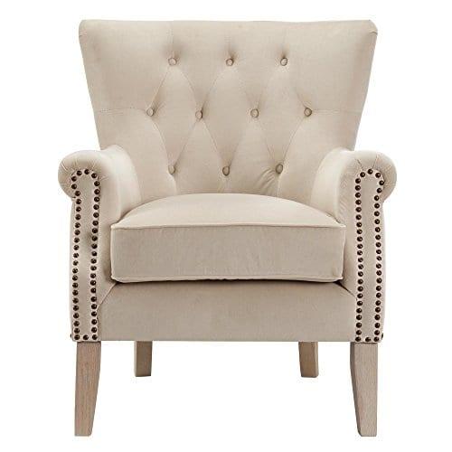 Dorel Living Accent Chair Beige 0 0