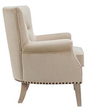 Dorel Living Accent Chair Beige 0 1 300x360