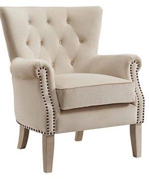 Dorel Living Accent Chair Beige 0 300x360