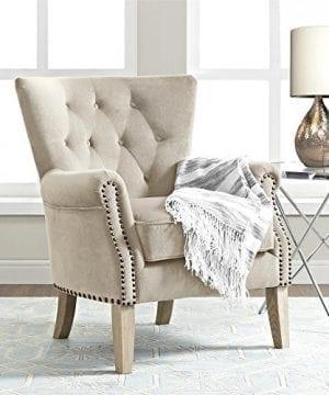 Dorel Living Accent Chair Beige 0 4 300x360