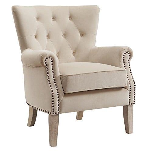 Dorel Living Accent Chair Beige 0
