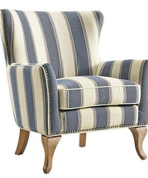Dorel Living Reva Accent Chair Blue 0 300x360
