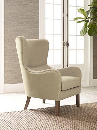 Modern Formal Living Room, Elle Decor Modern Farmhouse Accent Chair Tan Tan Farmhouse Goals
