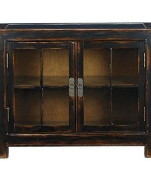 Ethan Allen Ming Small Media Cabinet Aged Ember 0 300x360