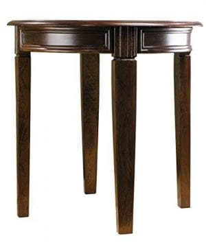 Fairview Game Rooms Round Accent Table In Chestnut Finish 0 0 300x360
