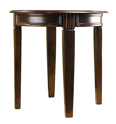 Fairview Game Rooms Round Accent Table In Chestnut Finish 0 0