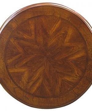 Fairview Game Rooms Round Accent Table In Chestnut Finish 0 1 300x360