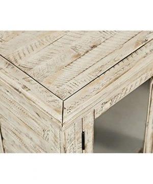 Jofran 1610 32 Rustic Shores Accent Cabinet 32W X 15D X 42H Vintage Cream Finish Set Of 1 0 0 300x360