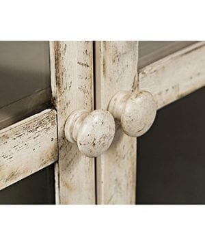 Jofran 1610 32 Rustic Shores Accent Cabinet 32W X 15D X 42H Vintage Cream Finish Set Of 1 0 1 300x360