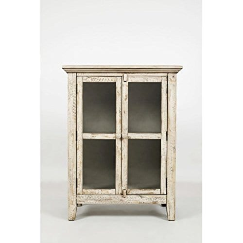 Jofran 1610 32 Rustic Shores Accent Cabinet 32W X 15D X 42H Vintage Cream Finish Set Of 1 0 2