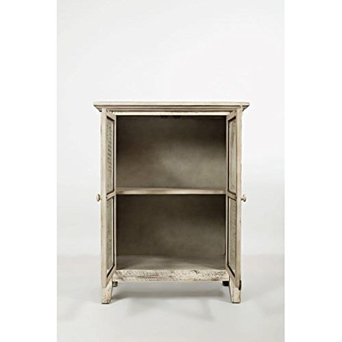 Jofran 1610 32 Rustic Shores Accent Cabinet 32W X 15D X 42H Vintage Cream Finish Set Of 1 0 3