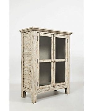 Jofran 1610 32 Rustic Shores Accent Cabinet 32W X 15D X 42H Vintage Cream Finish Set Of 1 0 300x360