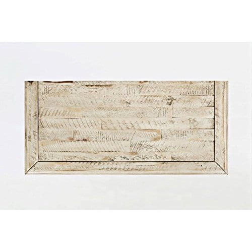 Jofran 1610 32 Rustic Shores Accent Cabinet 32W X 15D X 42H Vintage Cream Finish Set Of 1 0 4
