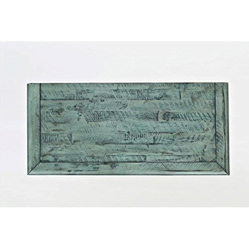 Jofran 1615 32 Rustic Shores Accent Cabinet 32W X 15D X 42H Vintage Blue Finish Set Of 1 0 5