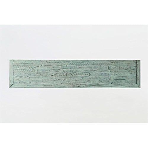 Jofran 1615 70 Rustic Shores Accent Cabinet 70W X 15D X 42H Vintage Blue Finish Set Of 1 0 2