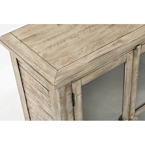 Jofran 1620 32 Rustic Shores Accent Cabinet 32W X 15D X 42H Vintage Grey Finish Set Of 1 0 0