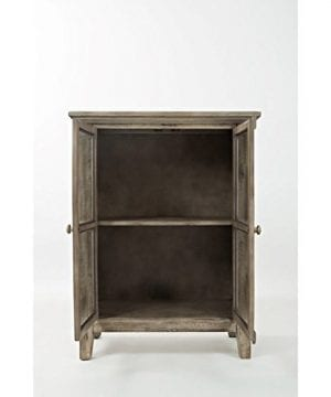 Jofran 1620 32 Rustic Shores Accent Cabinet 32W X 15D X 42H Vintage Grey Finish Set Of 1 0 3 300x360