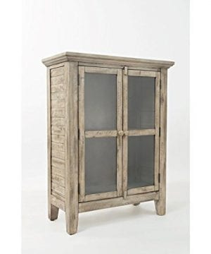 Jofran 1620 32 Rustic Shores Accent Cabinet 32W X 15D X 42H Vintage Grey Finish Set Of 1 0 300x360