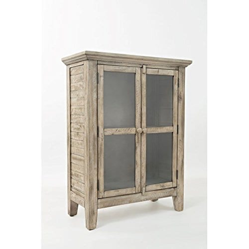 Jofran 1620 32 Rustic Shores Accent Cabinet 32W X 15D X 42H Vintage Grey Finish Set Of 1 0
